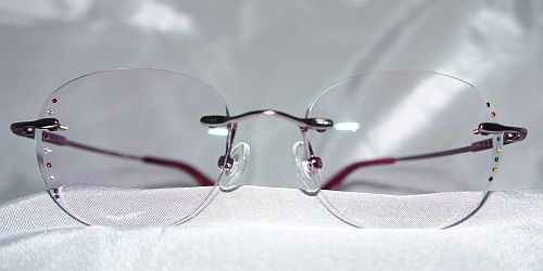 faceted eyewear